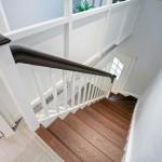 Hier zeigen wir Ihnen eine Holztreppe, die wir in Ihrhove (Westoverledingen, Ostfriesland) für einen Kunden erstellt haben.